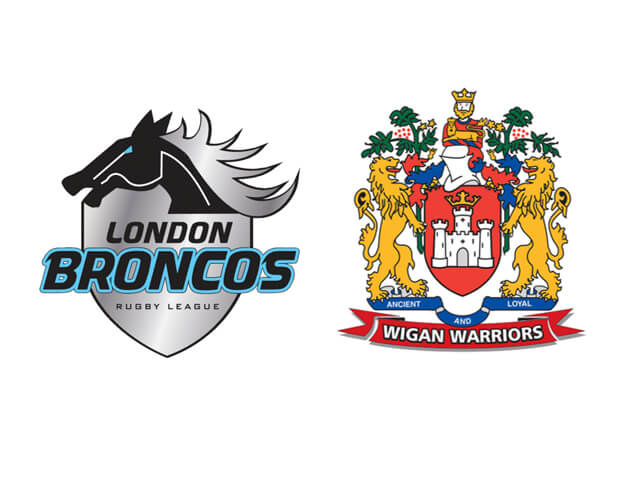 SAT 2nd March London Broncos Vs Wigan Warriors Overnight £79 PP