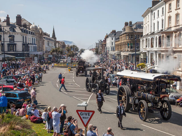 MON 6th May (Bank Holiday) Llandudno Victorian Extravaganza Adult £15 Child £10