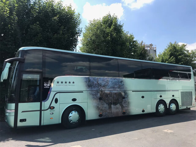 Northern Star Coach From Right Side Full Length