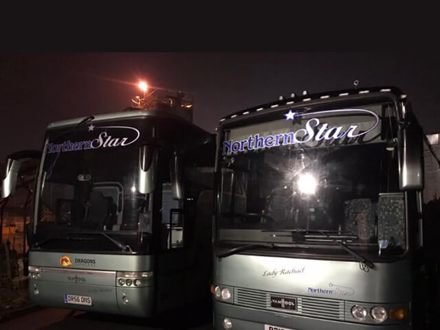 Two NothernStar Coaches