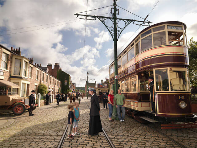 SUN 14th July Living Beamish Museum Adult £35 Child £26 Oap £33.50