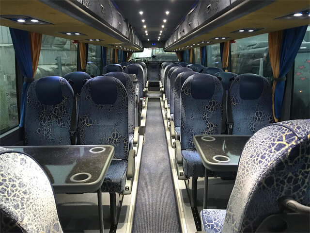 Northern Star Coach Tables Seats